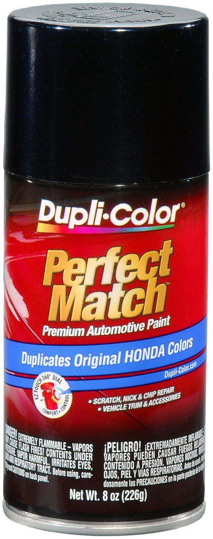 Dupli-Color BHA0982-6 PK (EBHA09827-6 PK) Nighthawk Black Pearl Honda Perfect Match Automotive Paint - 8 oz. Aerosol, (Case of 6)