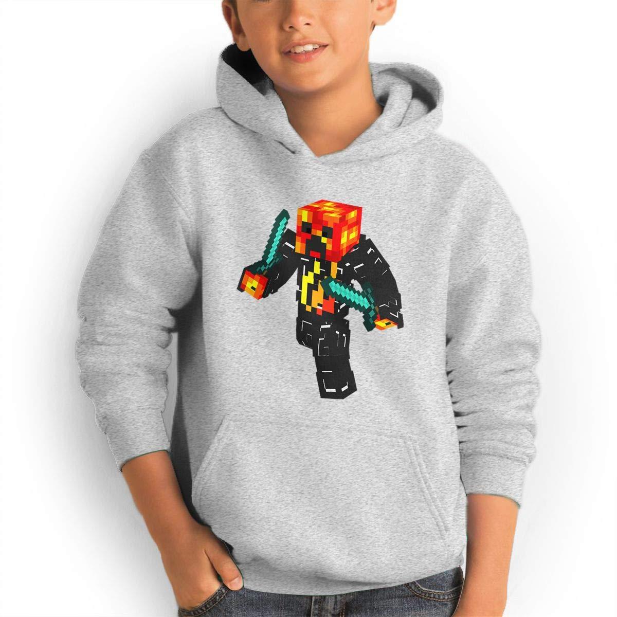 Red Coffee Teen Fashion Hoodie Hooded Sweatshirt Pocket Youth Boys Girls Sweaters,Preston-Playz