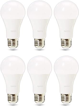 AmazonBasics Professional - Bombilla de tipo Edison LED, casquillo E27, equivalente a 100 W