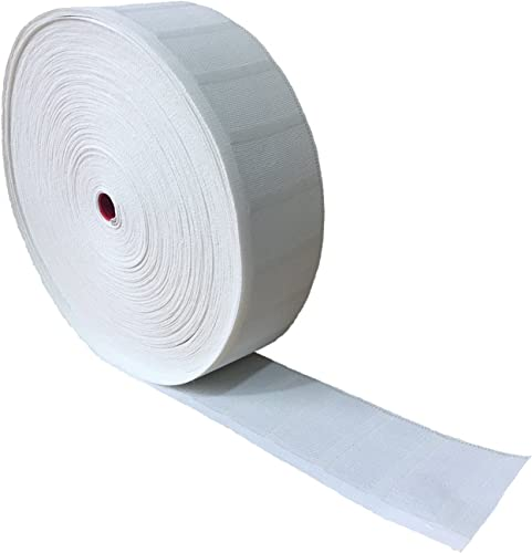 Yongle Store 3.2 X 32 Yards Curtain Tape Curtain Heading Deep Pinch Pleat Tape White 32 Yards Curtain Tape