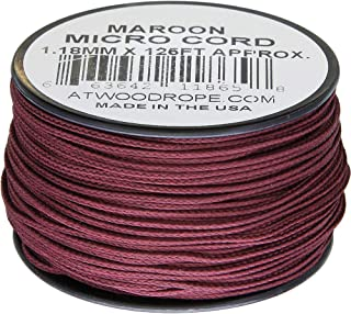 product image for Atwood Rope MFG Micro Cord 125ft Maroon