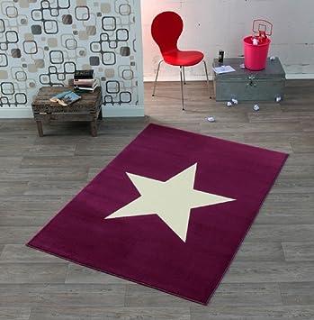 Hochwertiger Teppich Sternteppich Stern Jugendteppich