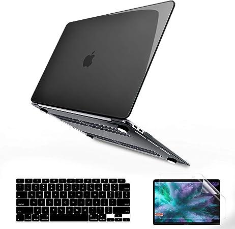 Ultra Delgado Pl/ástico Carcasa R/ígida /& Cubierta de Teclado /& Protector de Pantalla BELK Funda MacBook Air 13 Pulgadas 2020 2019 2018 con Retina Display /& Touch ID A2337 M1 A2179 A1932