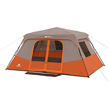 Ozark Trail 8 Person Instant Cabin Tent with 2 Queen Airbeds Value Bundle  sc 1 st  Amazon.com & Amazon.com : Ozark Trail 8 Person Instant Cabin Tent with 2 Queen ...