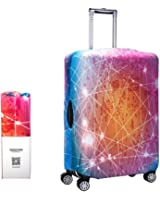 Alpaca Go Washable Print Luggage Cover Travel Suitcase Protector Zipper Suitcase Cover