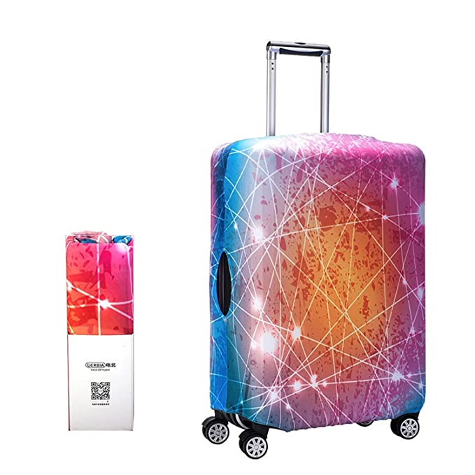 118cd49b89f3 Alpaca Go Washable Print Luggage Cover Travel Suitcase Protector Zipper  Suitcase Cover