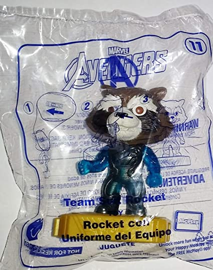 mcdonalds avengers happy meal toys rocket