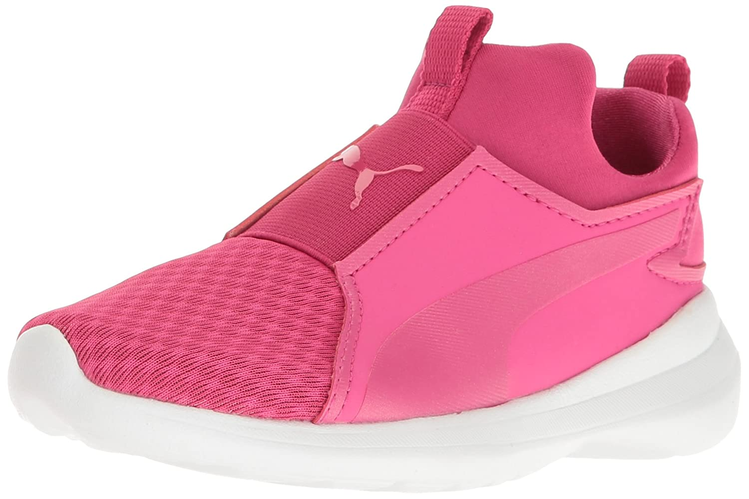 Puma Kids Rebel Mid PS Sneaker  1 M US Little Kid|Beetroot Purple-beetroot Purple