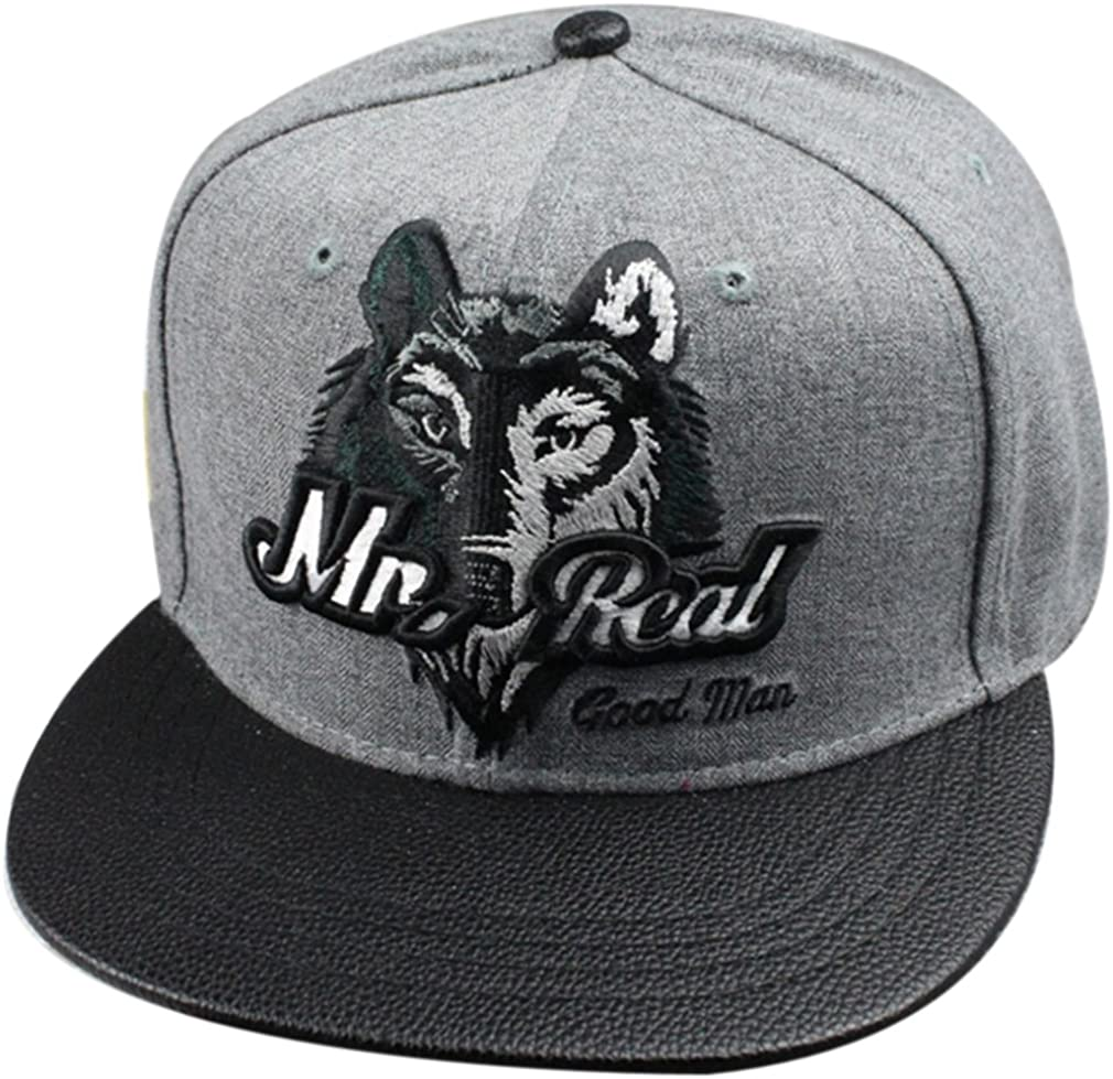 Belsen neutral Wolf Kopf Hip-Hop Cap Baseball Kappe Hut Truckers Hat