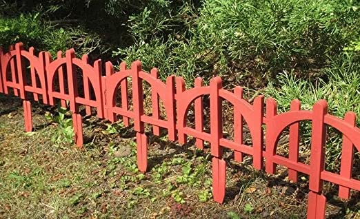 SKYSBIKE GMBH Palisade Rasenkante Beeteinfassung jardín Valla decoración Bordes, 4, 88 M - HTG26-R: Amazon.es: Jardín