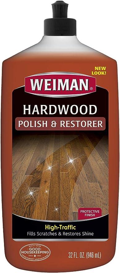 Weiman Wood Floor Polish And Restorer 32 Ounce High Traffic