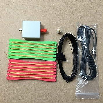 PinShang LW1650 - Antena portátil de onda corta (1,6-50 MHz ...