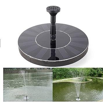 O Best Solar Powered Water Pump Garden Fountain Pond Feature / Solar  Powered Fountain Pump