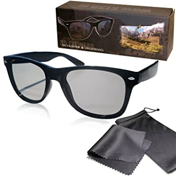 Gafas 3D pasiva para RealD - Negro y Mate - Estable y ligero montura de Gafas