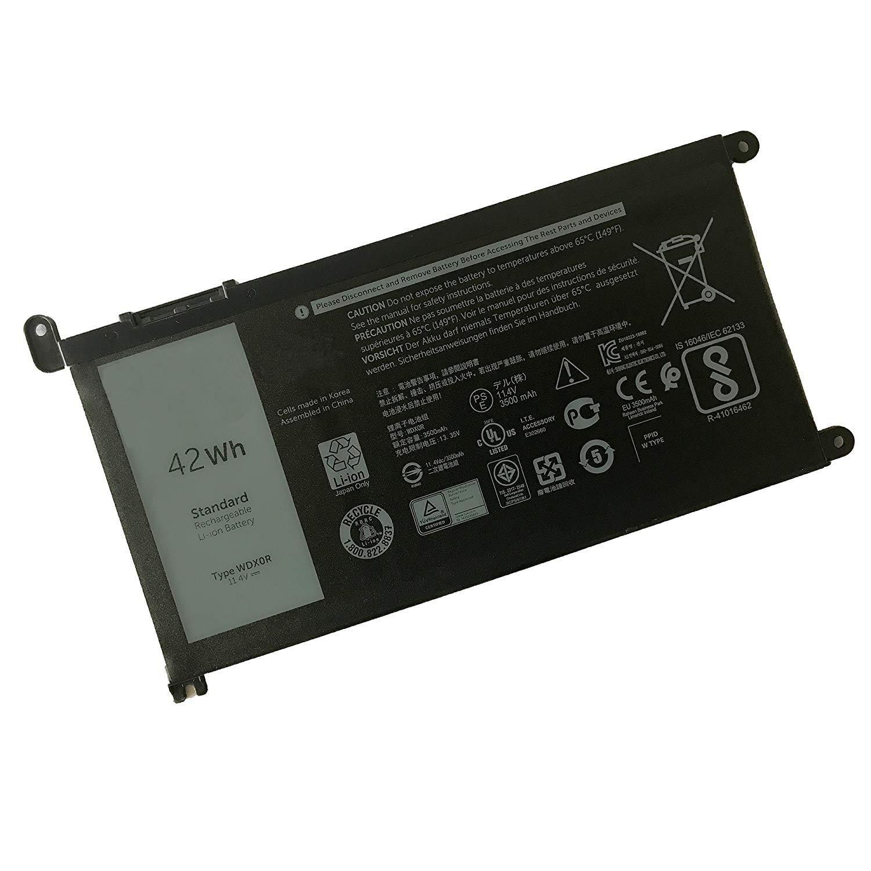 Bateria Para Dell Wdx0r 11.4v 42wh Inspiron 15 5568 7560 5567 13 7368 13 5378 14-7460 17-5770 13 5379 15 7570 Series Wdx