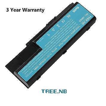 Tree.NB Batería de repuesto para Acer Aspire 5220 5230 5235 5300 5310 5315 5320 5330 5520 6930 7220 8730 Extensa 7230 7630 7630 TravelMate 7230 7530 ...