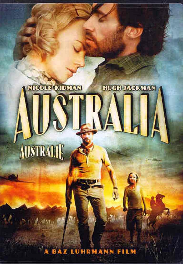 Australia (Australie) (Bilingual) Nicole Kidman Hugh Jackman Shea Adams Eddie Baroo