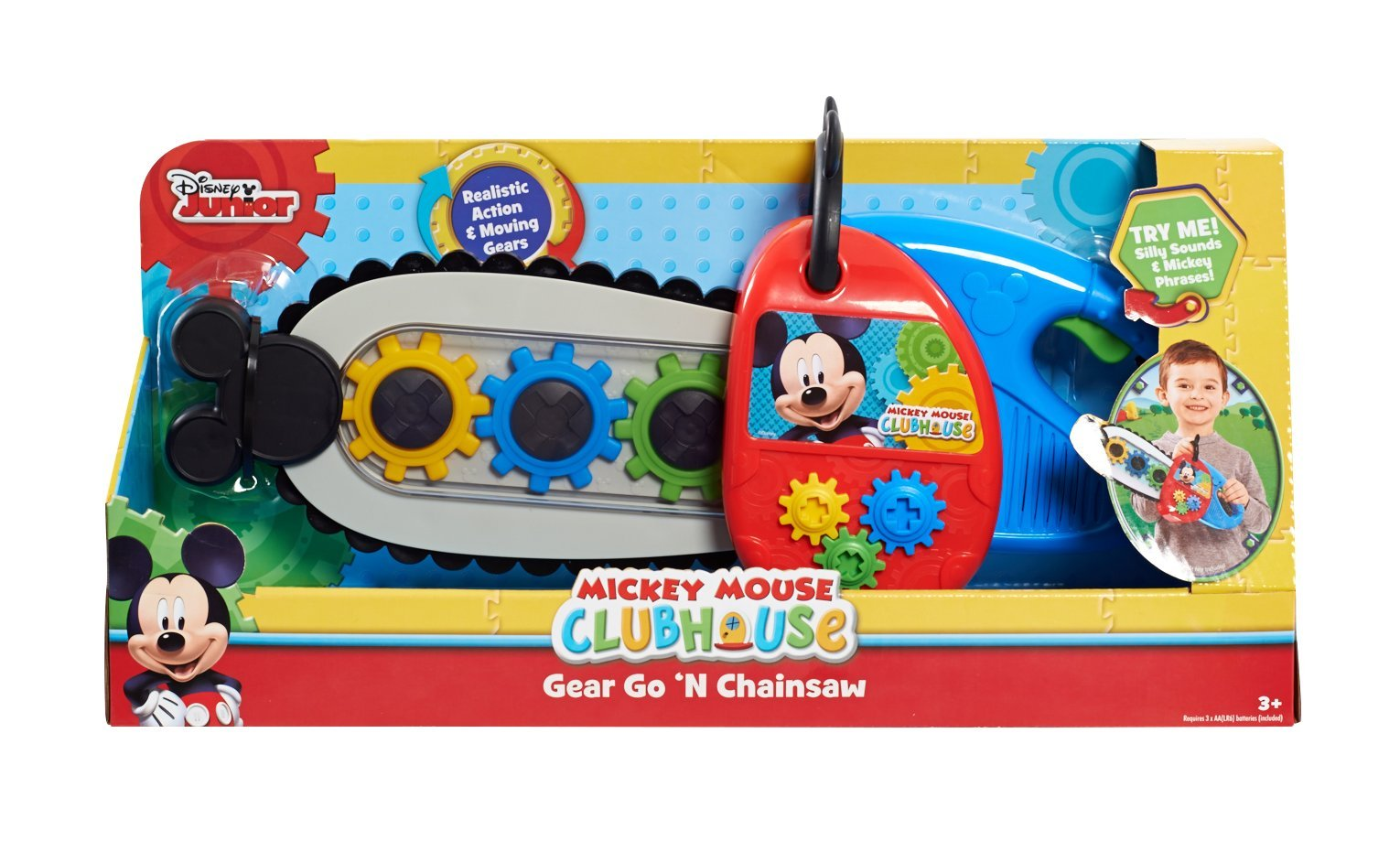 Mickey Mouse Club House Power Chainsaw by Mickey Mouse (Image #1)