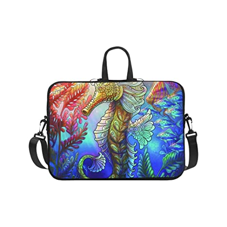 9cd25b396014 Amazon.com: Laptop Computer Sleeves 13 13.3 Inch Seahorse And Shoal ...