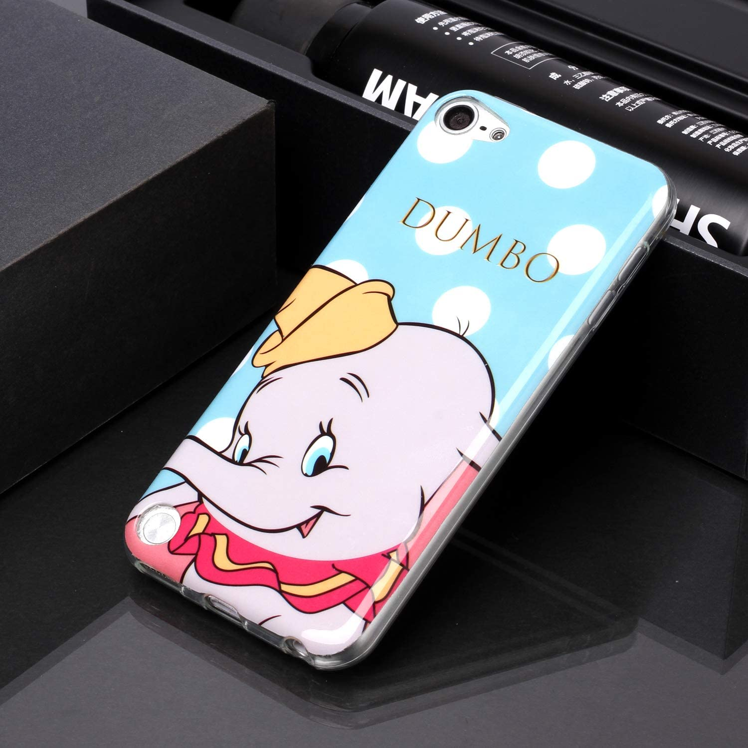5th KANTAS Soft Silicone Case for iPod Touch 5//6//7 Back Cover Flexible TPU Bumper Lovely Elephant Pattern Rubber Gel Skin Backcase Ultra Slim Thin Fit Protective Cases for iPod Touch 7th 6th