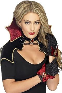 Dracula Disfraz Juego vampiro Disfraz Juego Gótico capa Collar ...