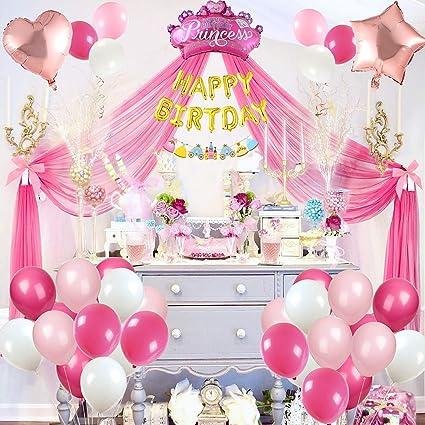 Tacobear Decoracion Fiesta Cumpleaños Princesa Globos de ...