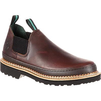 Georgia Giant Men's Romeo Slip-On Work Shoe: Shoes