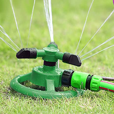 Amazoncom Water Sprinkler 360 Degree Rotation Lawn and Garden