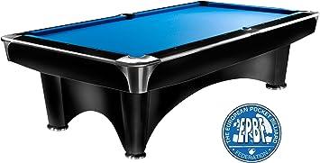 Mesa de billar Dynamic III, 9 ft. (Soporte), color negro mate, Pool ...