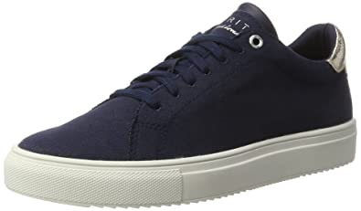Damen Trainee Lace up Sneakers, Blau (Navy 400), 39 EU Esprit