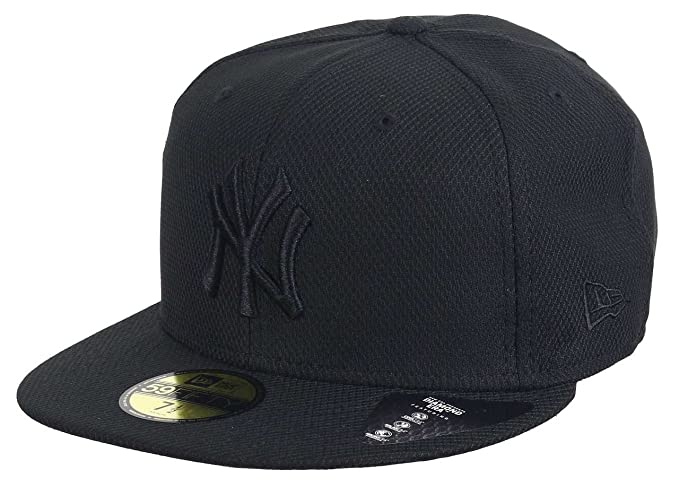 A NEW ERA Diamond Era 59 Fifty NY Yankees Gorra Negro Negro Negro ...