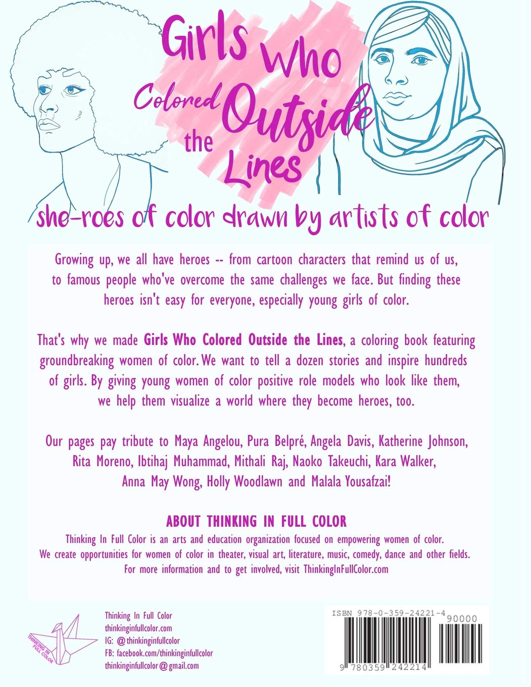 Girls who colored outside the lines summer dawn reyes 9780359242214 amazon com books