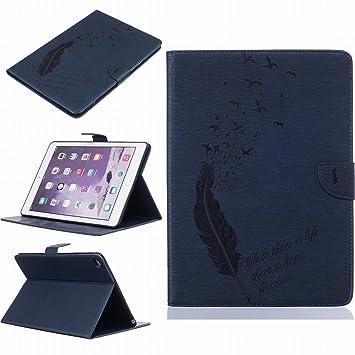 LEMORRY para Apple iPad Air 2 / iPad 6 Funda Estuches Pluma ...