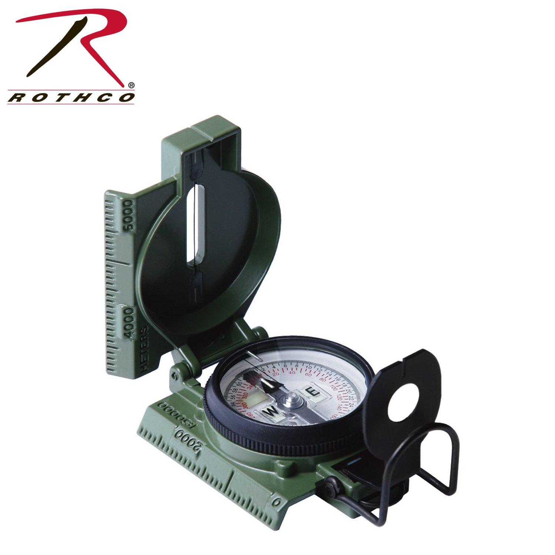 Rothco Kompass Frage phosphorisierend-Gi/Od (27)