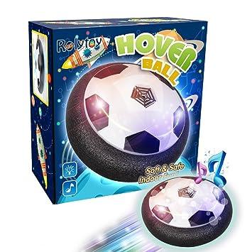 Rolytoy Fussball Air Power Kinder Geschenk Spielzeuge Fur Kindergeburtstag Hover Power Ball Indoor Outdoor Fussball Mit Led Beleuchtung Mustik