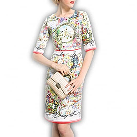 Venetia Morton Fashion Vestido Autumn Women Slim Dress Designer Runway Brand Jacquard Floral Print Casual Dress