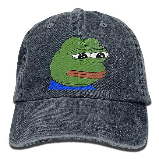 Pepe The Frog Logo Cowboy Hat Athletic Customized Best Hat at Amazon ... 66c92c3aba0e