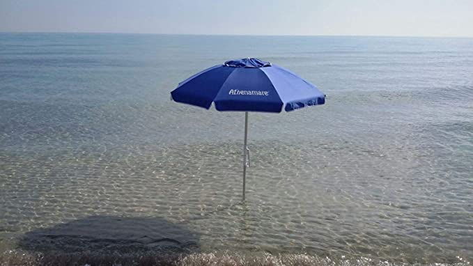 Sombrilla de playa – Paraviento. Resistente al viento con su ...