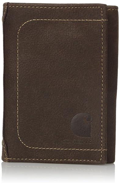 Carhartt Hombres 61-CH2259R Billetera - Marrón - talla única: Amazon.es: Ropa y accesorios