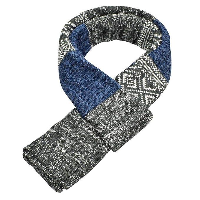 gran venta a1dc1 8098c Yuson Girl Bufanda Hombr, Bufanda de Hombre la tela escocesa cozy Lana  Abrigo Del Mantón cuello bufanda Regalos para Hombre unisexo