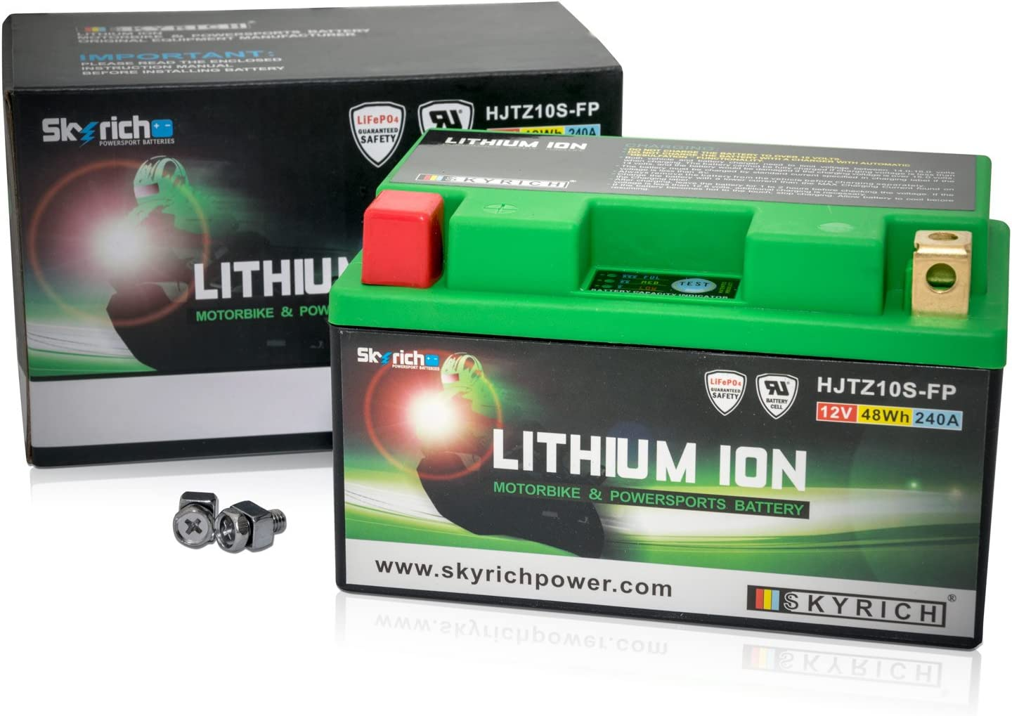 Skyrich HJTZ10S-FP industrial rechargeable battery Lithium 12 V