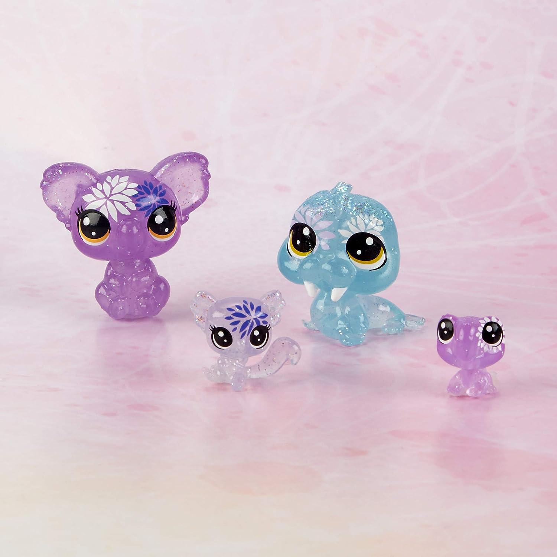 Littlest Petshop Collection Jardin Enchant/é 8 Minis Petshop et 8 Teensies Petshop Coffret de 16 Figurines Petshop