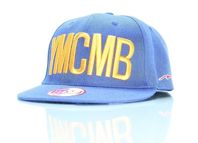 Royaume-Uni disponibilité 6639d 42581 YMCMB Casquette snapback - Unique, Bleu: Amazon.fr ...