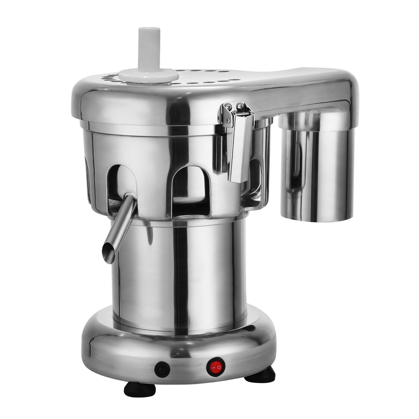 OrangeA 550W Commercial Juice Extractor Heavy Duty Commercial Juicer Aluminum Casting and Stainless Steel Constructed Centrifugal Juice Extractor Juicing both Fruit and Vegetable (WF-A2000)