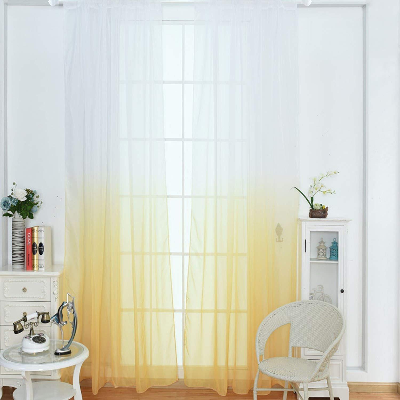 Amazon.com: WUBODTI Cortinas de ventana para el hogar, panel ...