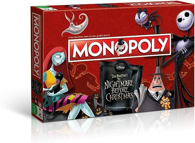 Winning Moves win44710 – Juego de Cartas Monopoly: Nightmare Before Christmas: Amazon.es: Juguetes y juegos