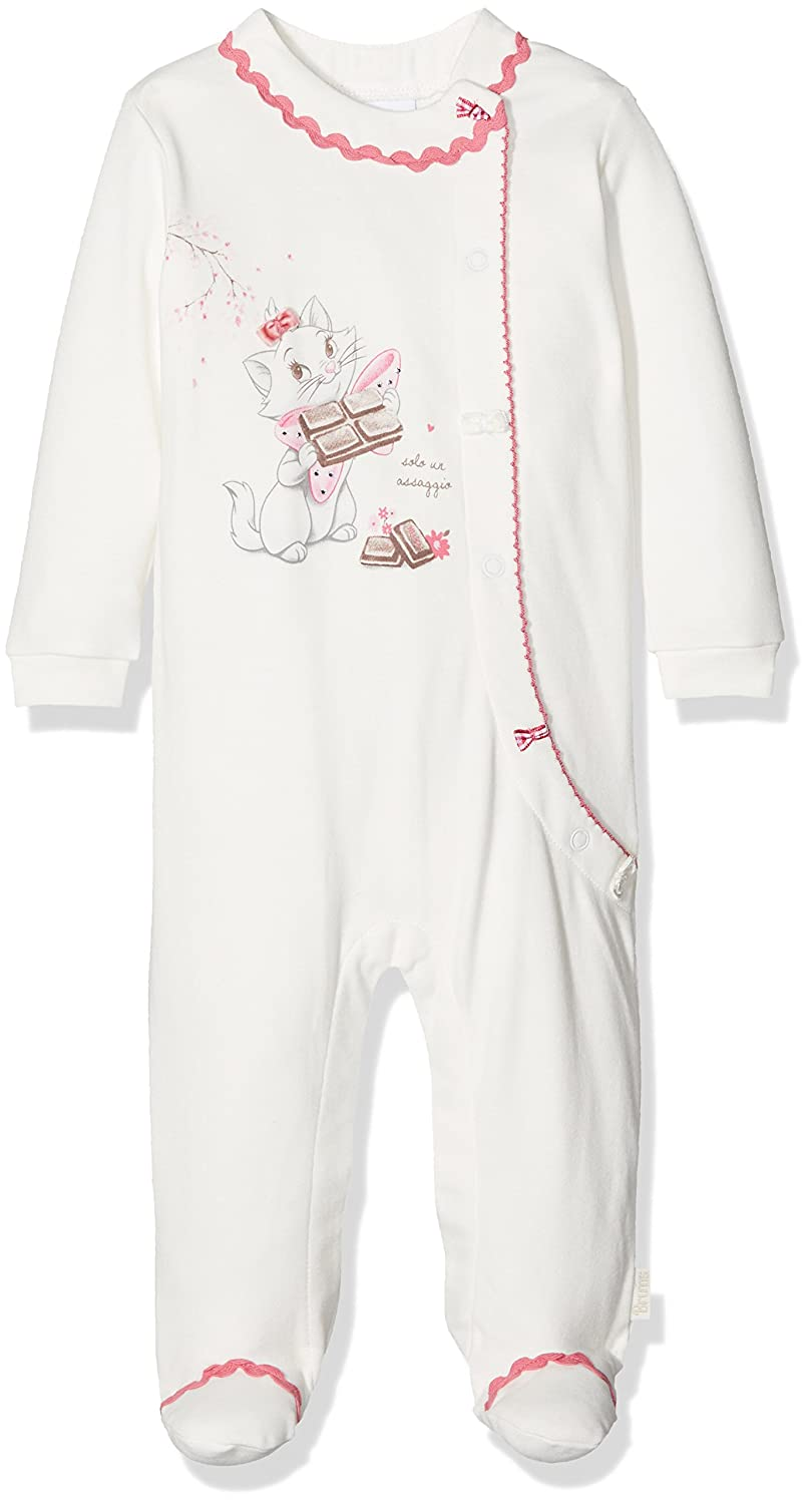 Brums Baby Girls' Playsuit (White 900) 50 cm 173BCFV013