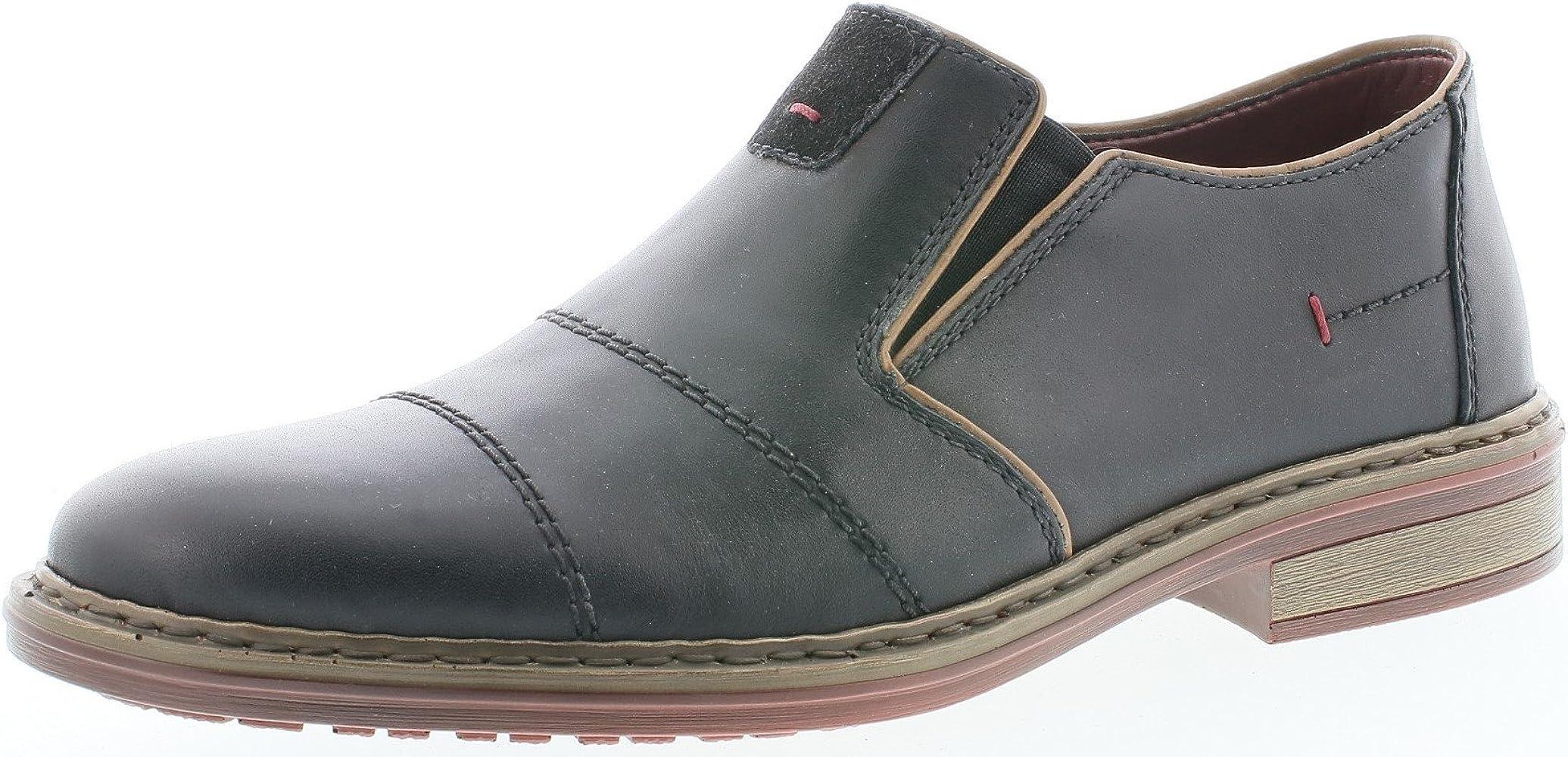 RIEKER ANTISTRESS HERREN Schuhe Slipper Halbschuh Mokassin