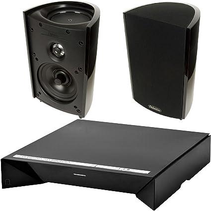 Definitive Technology W Amp Wireless Amplifier ProMonitor 800 Bookshelf Speakers Pair