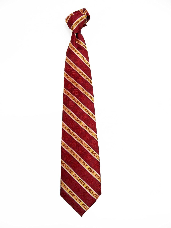 NCAA Mens Iowa State Cyclones State Prep Necktie Cardinal//Gold